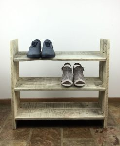 Recycled Timber Furniture - Shoe Rack