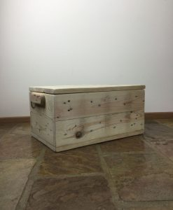 Recycled Timber Furniture - Wooden Storage Box