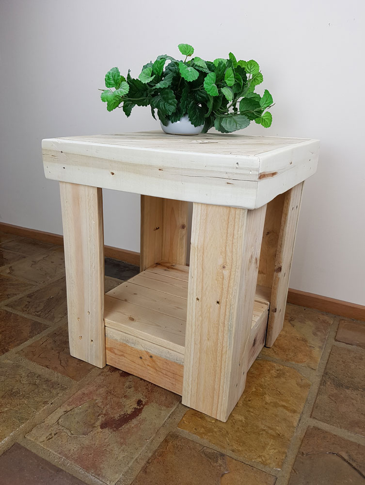 Recycled Timber Pallet Bedside Tables Pair Mercy Timber