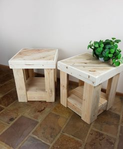 Recycled Timber Furniture - Bedside Tables